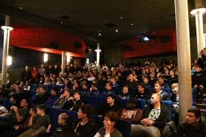 Volles Haus bei der SVB Neujahrsfeier im Babelsberger Thalia Kino.