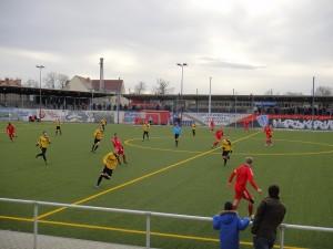 2:1 Erfolg im Testspiel Babelsberg 03 vs. Greif Torgelow