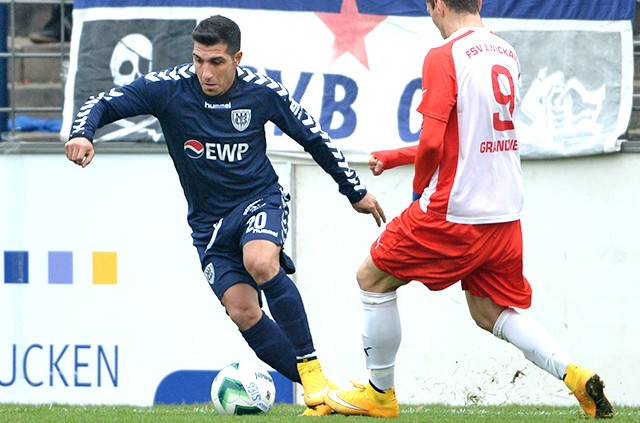 SV Babelsberg 03 - FSV Zwickau