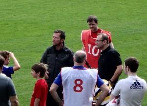 Champions League im Karli:  Training mit Lothar Matthäus