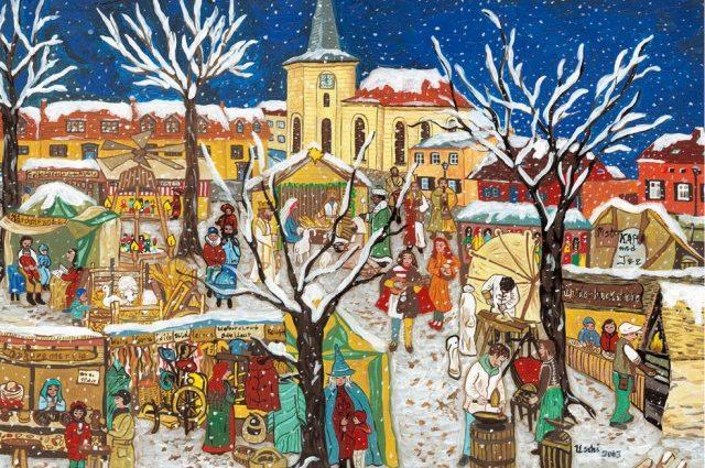 Böhmischer Weihnachtsmarkt in Babelsberg