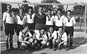 Rotation Babelsberg (Juni 1953), hintere Reihe rechts: Rolf Kuhle