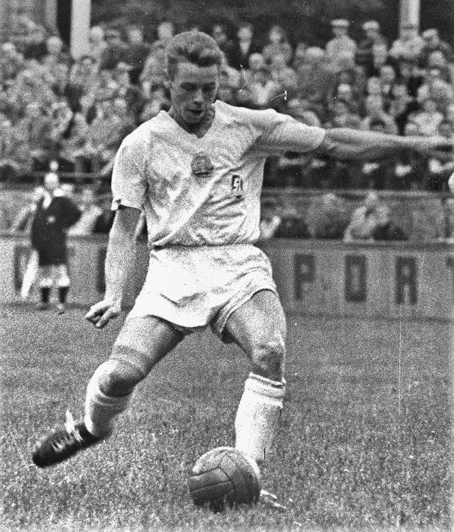 Klaus Benkert 1961 im Trikot des SC Potsdam