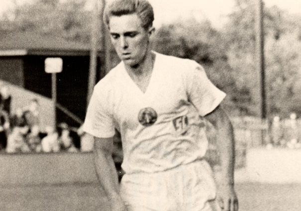 Rainer Geserich im Trikot des SC Potsdam