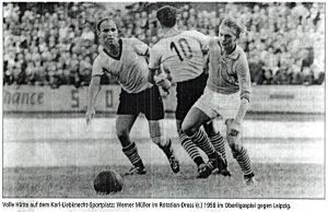 Werner Müller (Rotation Babelsberg) 1958 vs. Leipzig